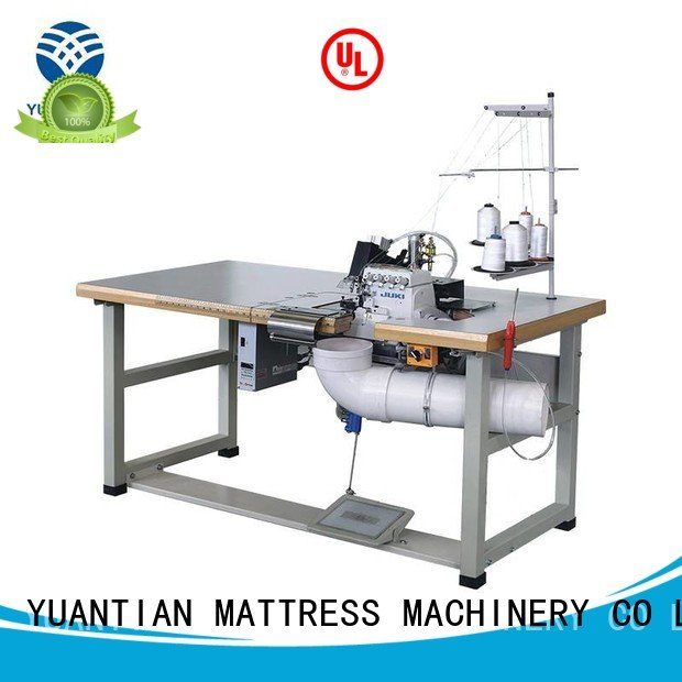 Double Sewing Heads Flanging Machine heads heavyduty OEM Mattress Flanging Machine YUANTIAN Mattress Machines