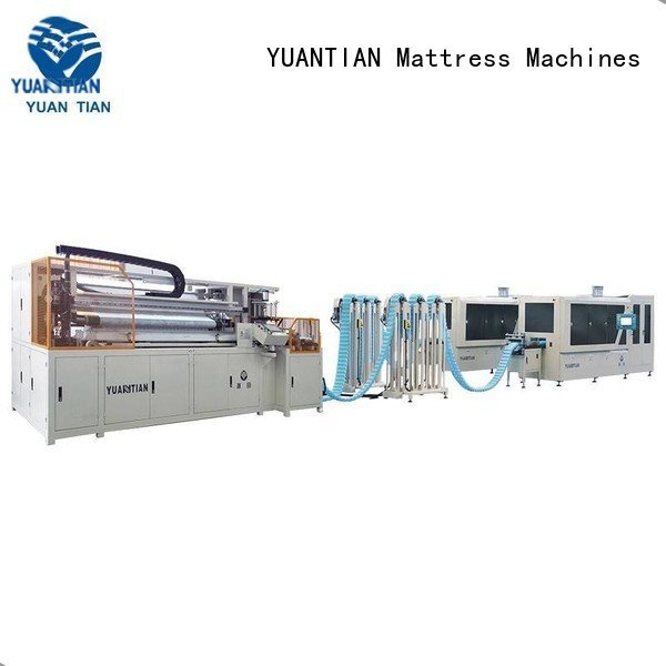 Automatic Pocket Spring Machine dn6 dzg1 Automatic High Speed Pocket Spring Machine YUANTIAN Mattress Machines Brand