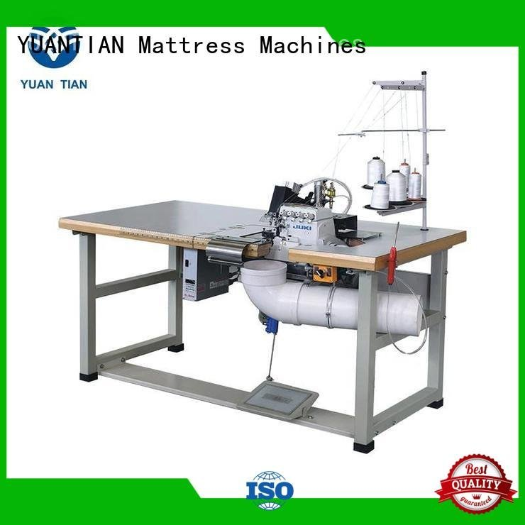 Double Sewing Heads Flanging Machine sewing Mattress Flanging Machine YUANTIAN Mattress Machines