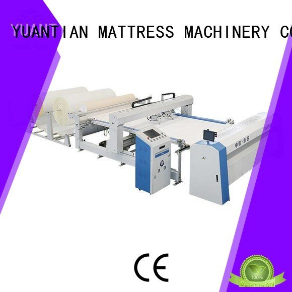YUANTIAN Mattress Machines Brand machine border quilting machine for mattress side double
