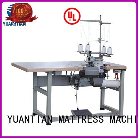 Hot Double Sewing Heads Flanging Machine multifunction heads sewing YUANTIAN Mattress Machines Brand
