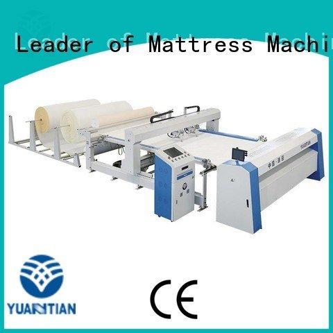 Custom quilting machine for mattress mattress multineedle side YUANTIAN Mattress Machines
