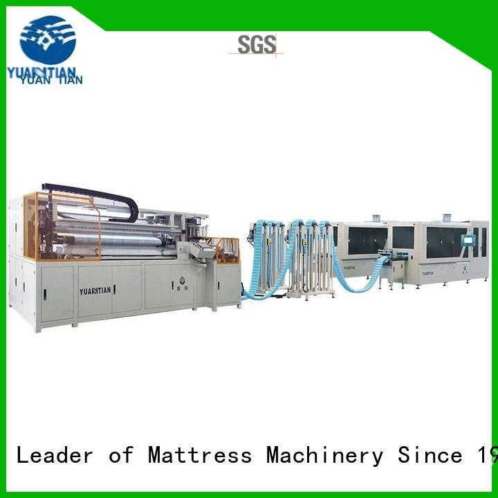 line production pocket YUANTIAN Mattress Machines Automatic Pocket Spring Machine
