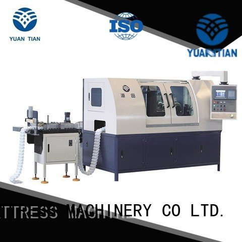 YUANTIAN Mattress Machines dtdx012 high pocketspring Automatic Pocket Spring Machine production