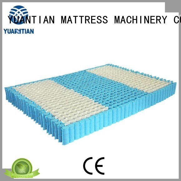 YUANTIAN Mattress Machines mattress spring unit spring nested pocket