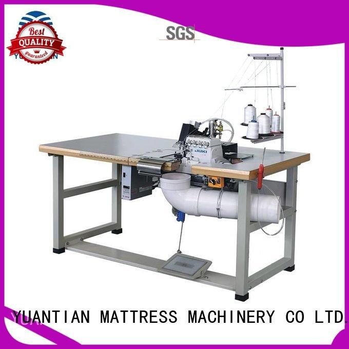 Hot Double Sewing Heads Flanging Machine heads Mattress Flanging Machine heavyduty YUANTIAN Mattress Machines