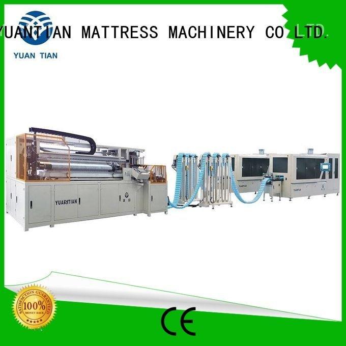 Automatic Pocket Spring Machine line Automatic High Speed Pocket Spring Machine YUANTIAN Mattress Machines