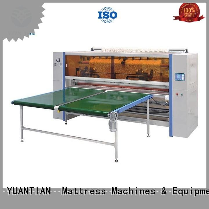 Mattress Cutting Machine Supplier panel Mattress Cutting Machine YUANTIAN Mattress Machines Brand