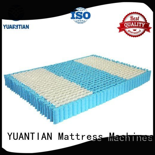 YUANTIAN Mattress Machines Brand bottom zoned mattress spring unit nonwoven covers