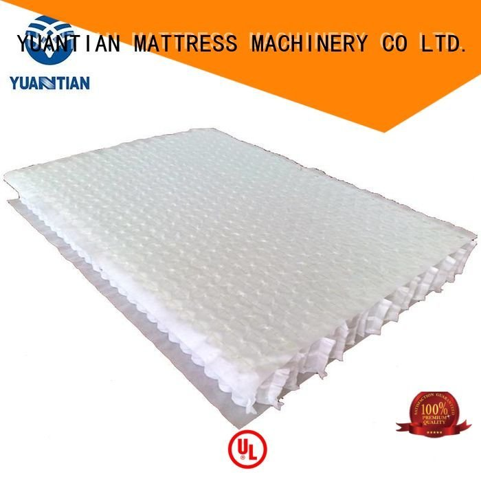 YUANTIAN Mattress Machines mattress spring unit pocket covers spring with