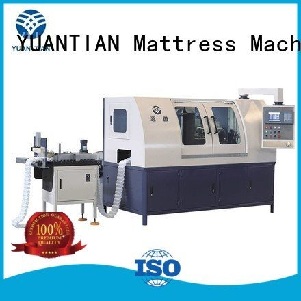 line Automatic Pocket Spring Machine YUANTIAN Mattress Machines Brand