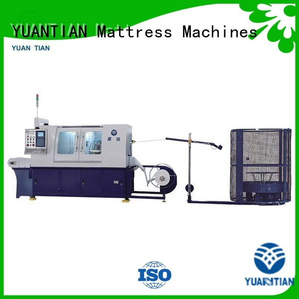 coiling assembler pocketspring line YUANTIAN Mattress Machines Brand Automatic High Speed Pocket Spring Machine supplier