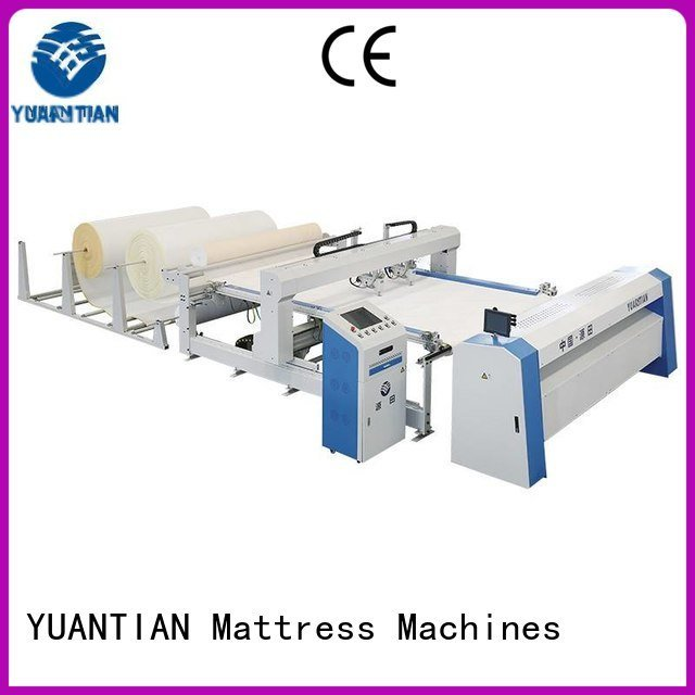 bhf1 sa330 heads ls320 YUANTIAN Mattress Machines quilting machine for mattress price