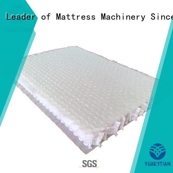 Custom spring mattress spring unit zoned mattress spring unit
