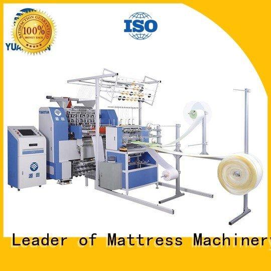 needle mattress single border YUANTIAN Mattress Machines quilting machine for mattress
