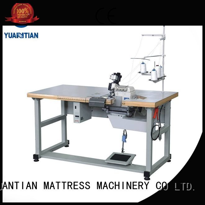 Double Sewing Heads Flanging Machine ds8a Mattress Flanging Machine machine
