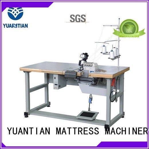 Hot Double Sewing Heads Flanging Machine machine mattress heavyduty YUANTIAN Mattress Machines Brand