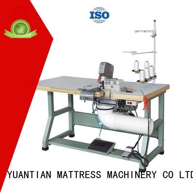 Hot Double Sewing Heads Flanging Machine heads machine heavyduty YUANTIAN Mattress Machines Brand