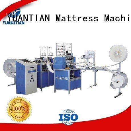 machine mattress wbsh3 double YUANTIAN Mattress Machines quilting machine for mattress price