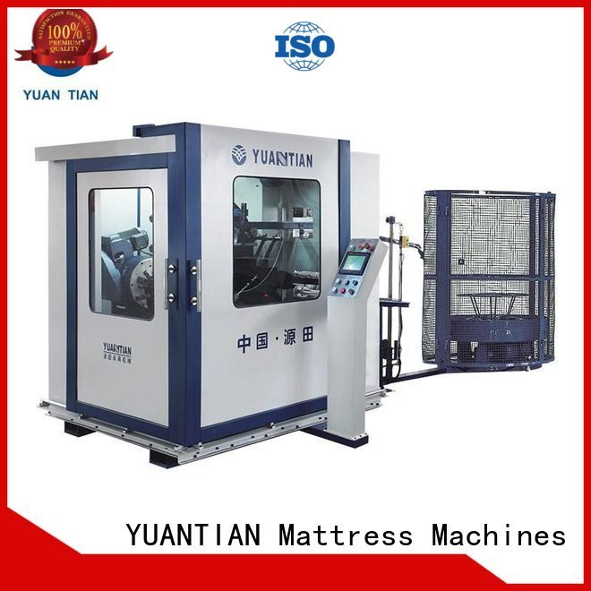 YUANTIAN Mattress Machines bonnell spring machine line unit coiler