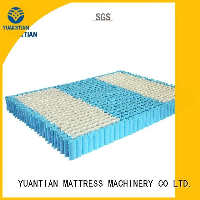 Hot mattress spring unit unit covers nonwoven YUANTIAN Mattress Machines Brand