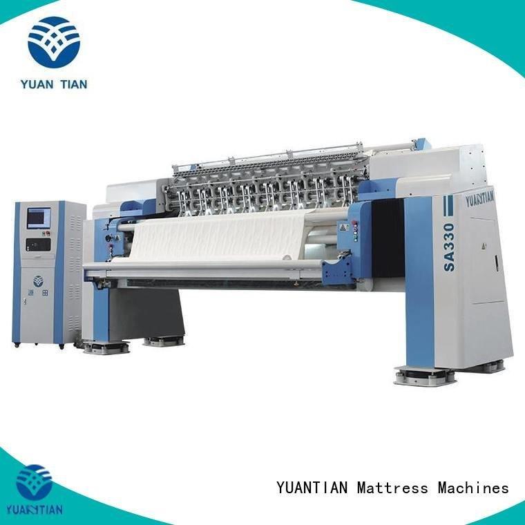 machine lockstitch YUANTIAN Mattress Machines quilting machine for mattress price