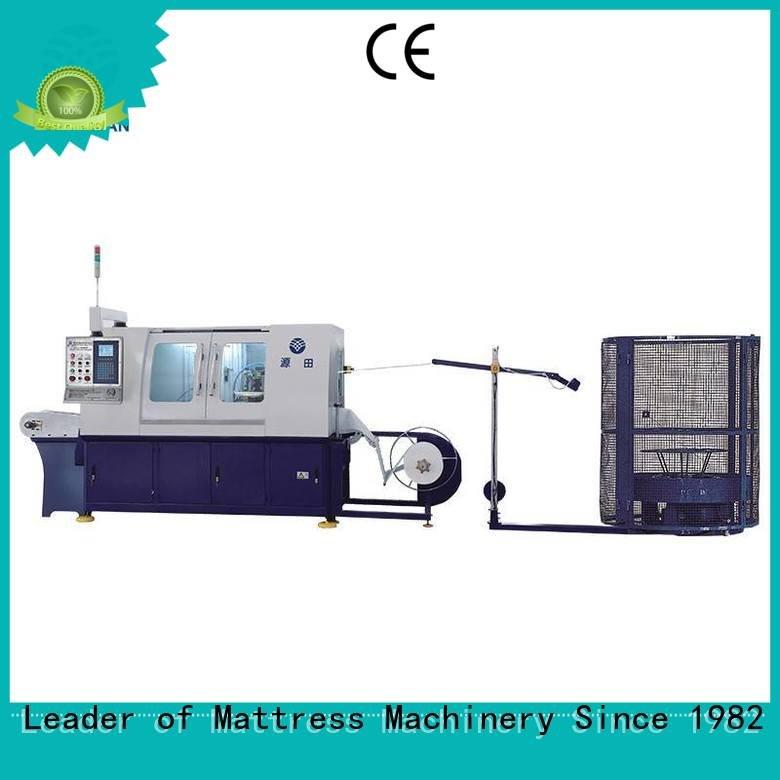 high line Automatic High Speed Pocket Spring Machine pocketspring YUANTIAN Mattress Machines