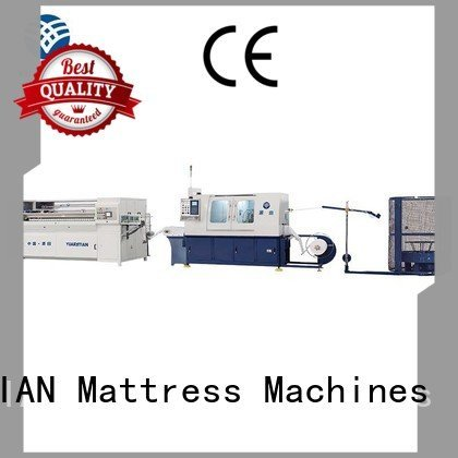 machine production Automatic High Speed Pocket Spring Machine coiler YUANTIAN Mattress Machines