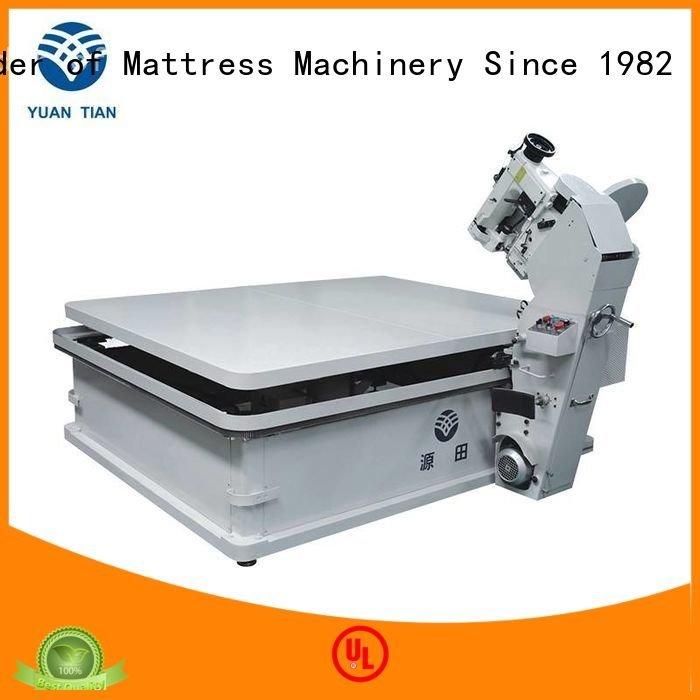 Hot mattress tape edge machine binding mattress tape edge machine table YUANTIAN Mattress Machines