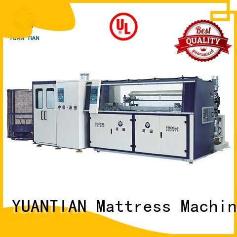 Quality bonnell spring machine YUANTIAN Mattress Machines Brand coiler Automatic Bonnell Spring Coiling Machine