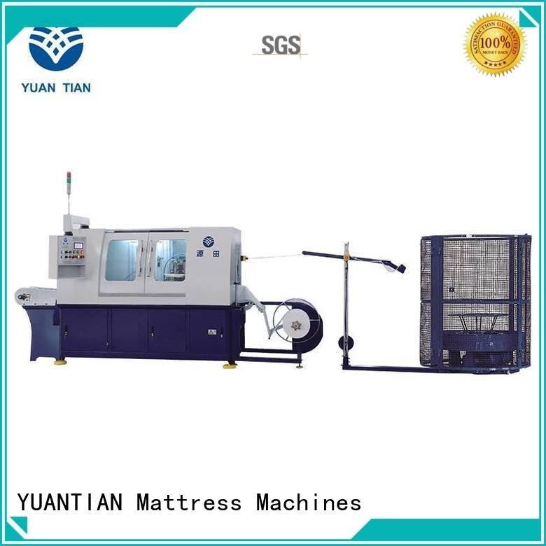 YUANTIAN Mattress Machines Brand assembling dn6 machine Automatic Pocket Spring Machine