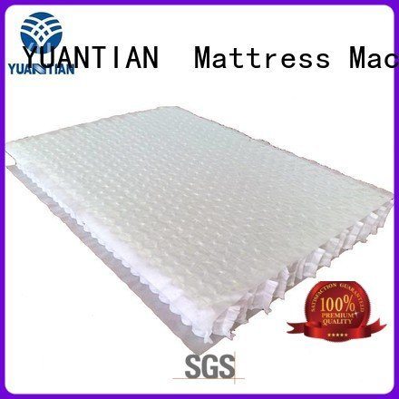 YUANTIAN Mattress Machines Brand top bottom pocket mattress spring unit