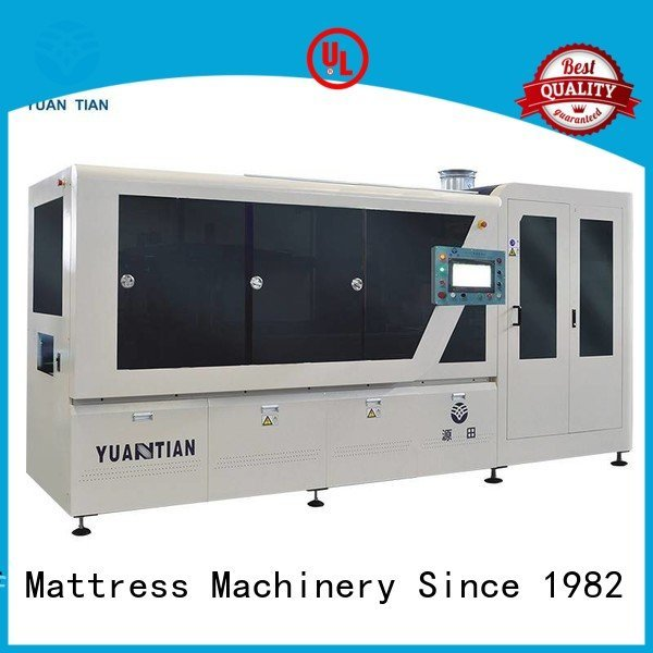 dzg1 Automatic High Speed Pocket Spring Machine YUANTIAN Mattress Machines Automatic Pocket Spring Machine