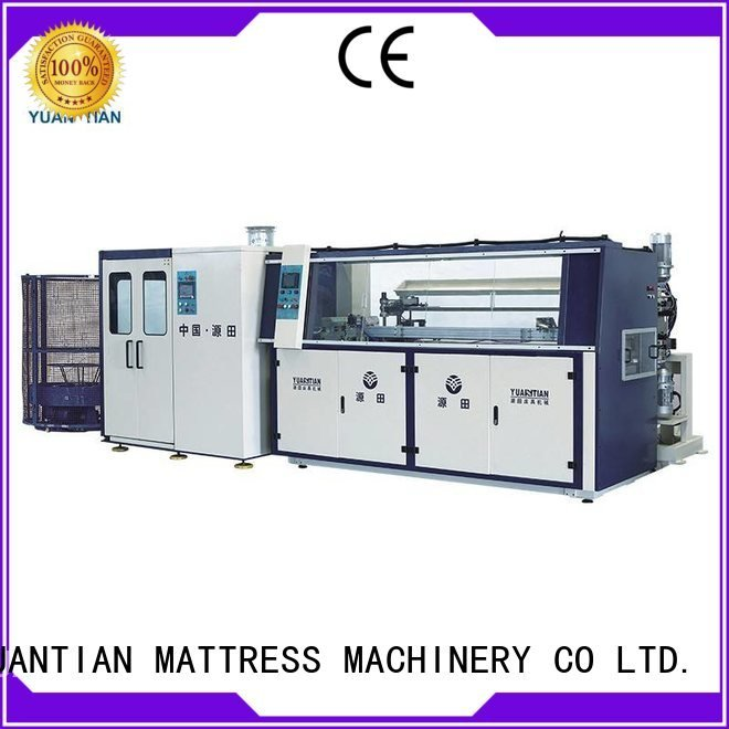 spring bonnell bonnell spring machine bonnell YUANTIAN Mattress Machines Brand Automatic Bonnell Spring Coiling Machine