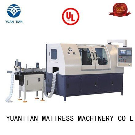 dt012 line YUANTIAN Mattress Machines Automatic High Speed Pocket Spring Machine