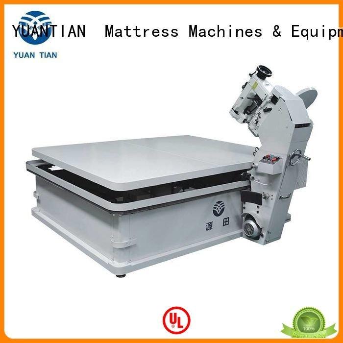 YUANTIAN Mattress Machines Brand table mattress tape edge machine mattress wb3a