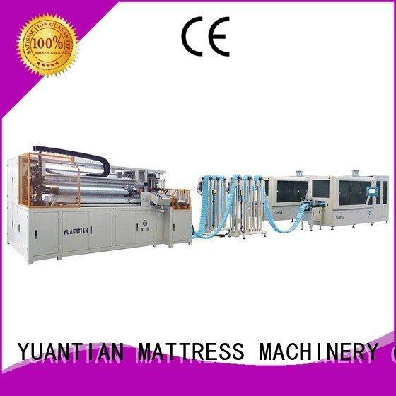 YUANTIAN Mattress Machines Automatic Pocket Spring Machine line high spring machine