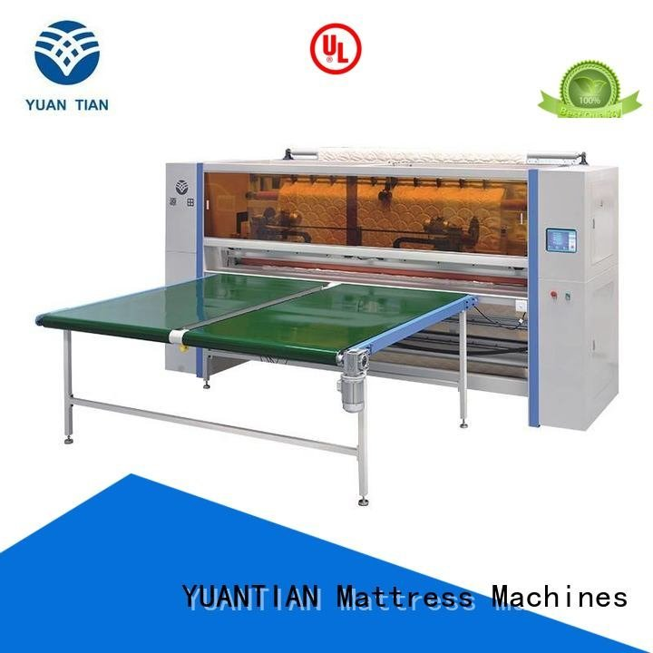 YUANTIAN Mattress Machines Mattress Cutting Machine Supplier machine panel mattress cj3a