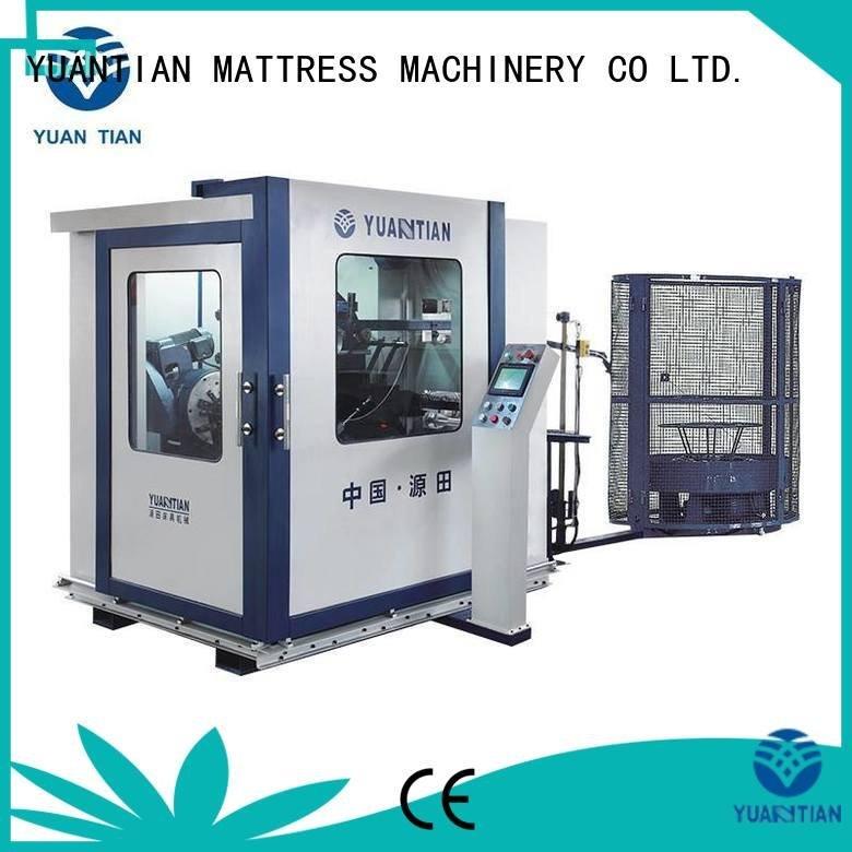 bonnell spring machine line machine OEM Automatic Bonnell Spring Coiling Machine YUANTIAN Mattress Machines