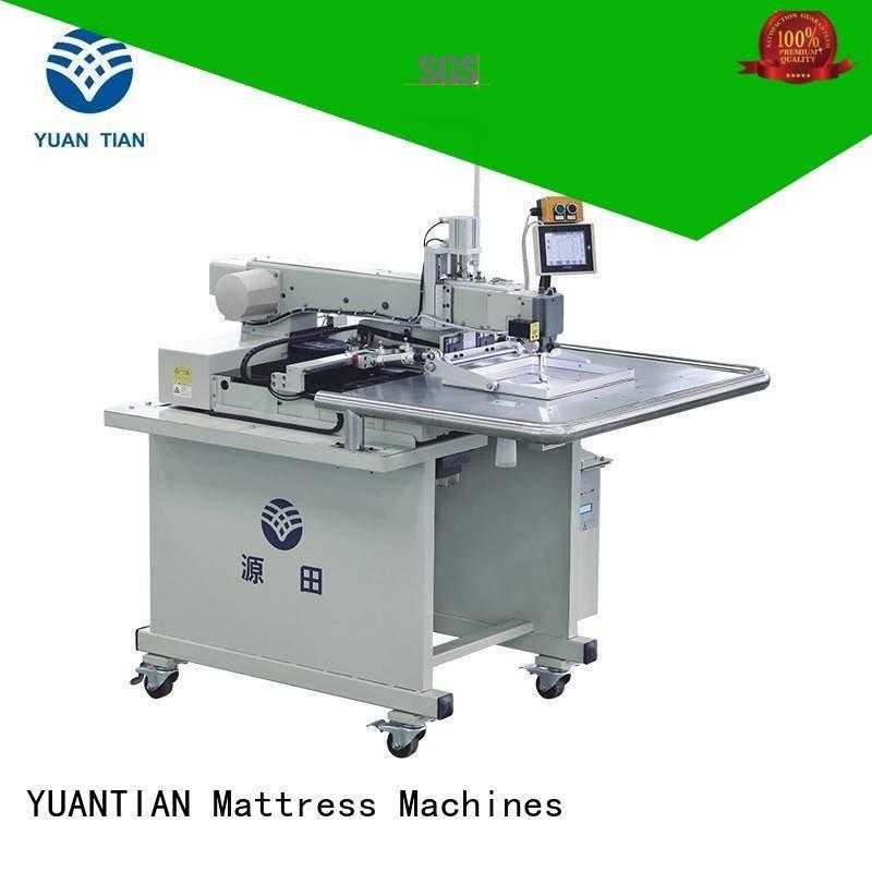 autimatic long decorative YUANTIAN Mattress Machines Mattress Sewing Machine
