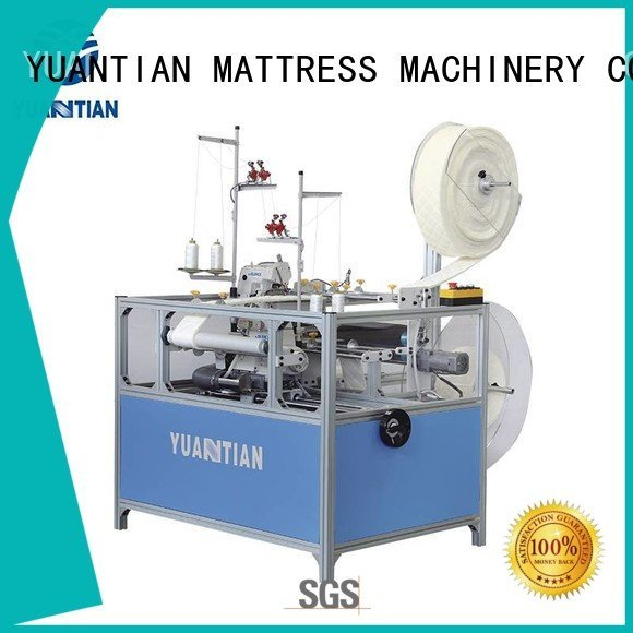 Double Sewing Heads Flanging Machine flanging sewing OEM Mattress Flanging Machine YUANTIAN Mattress Machines