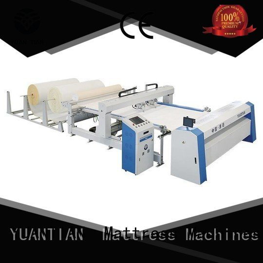 singleneedle multineedle heads mattress YUANTIAN Mattress Machines quilting machine for mattress