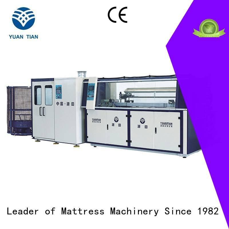 YUANTIAN Mattress Machines bonnell spring machine production unit spring