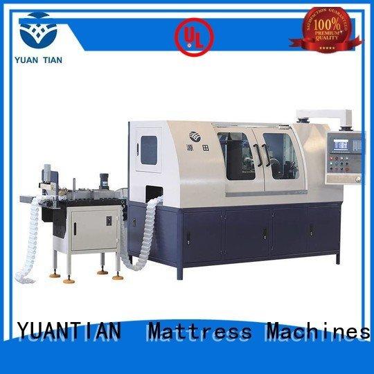 pocketspring spring machine production YUANTIAN Mattress Machines Automatic Pocket Spring Machine