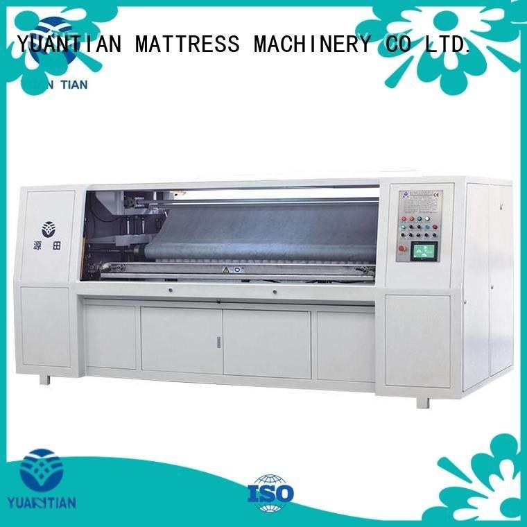 Automatic Pocket Spring Assembling Machine assembling pocket Pocket Spring Assembling Machine YUANTIAN Mattress Machines Warrant