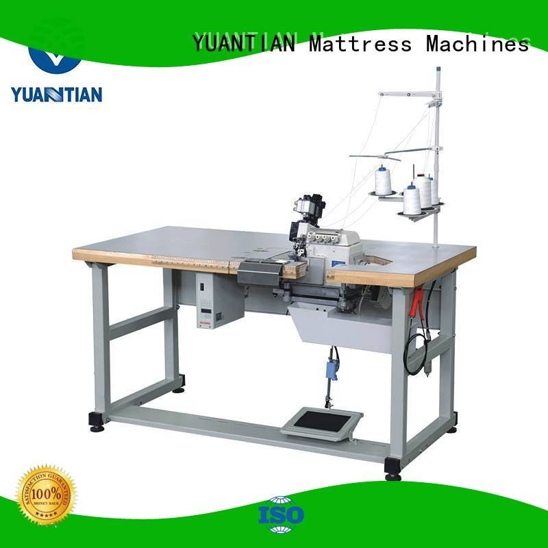heavyduty heads multifunction machine YUANTIAN Mattress Machines Double Sewing Heads Flanging Machine