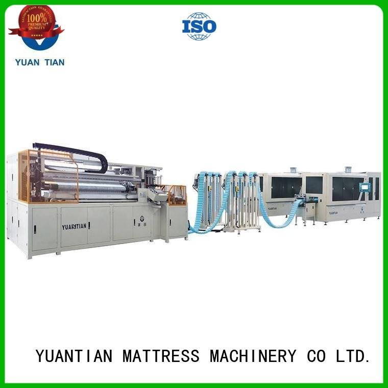 YUANTIAN Mattress Machines spring speed Automatic High Speed Pocket Spring Machine assembling pocket