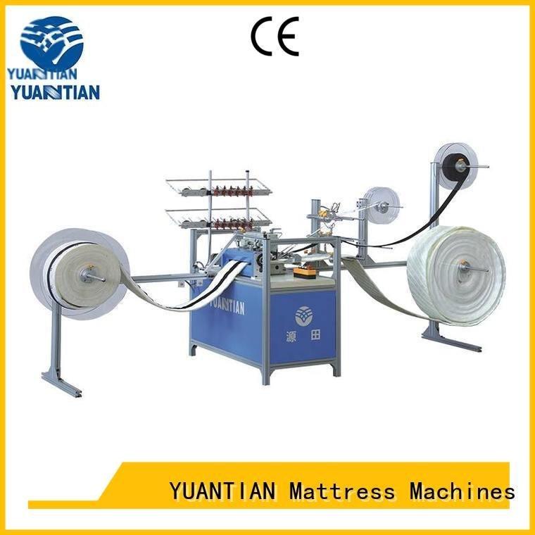 YUANTIAN Mattress Machines Brand mattress label singer  mattress  sewing machine price sewing border