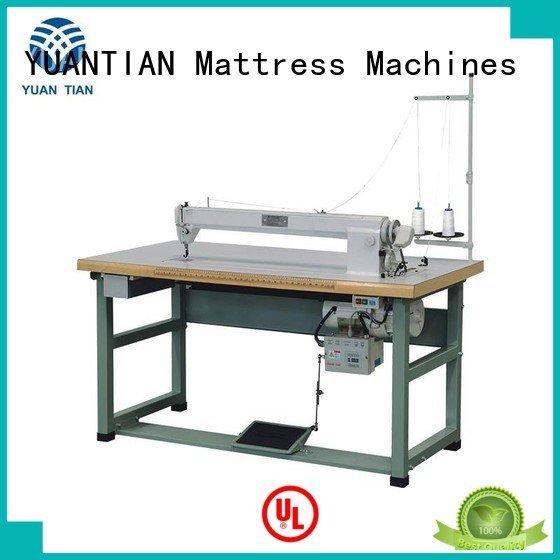 YUANTIAN Mattress Machines Brand longarm arm singer  mattress  sewing machine price mattress label