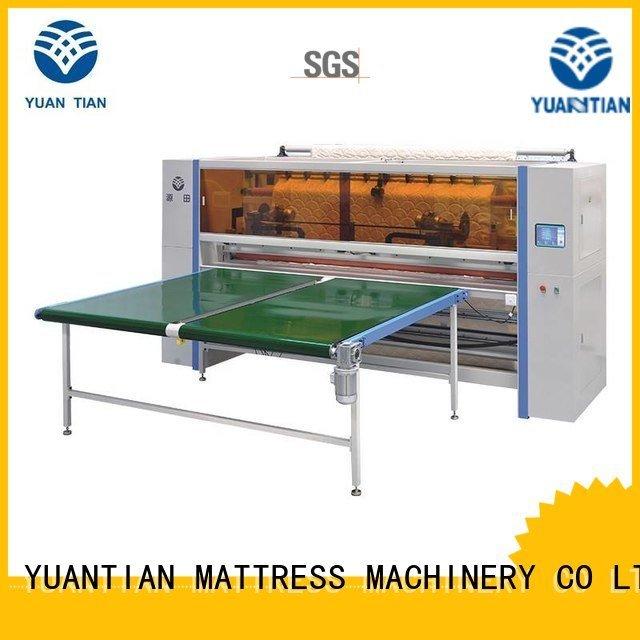 Mattress Cutting Machine Supplier panel mattress Mattress Cutting Machine YUANTIAN Mattress Machines Brand